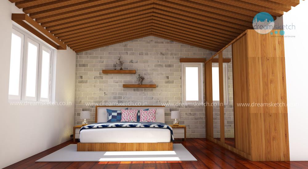 2nd-Floor Master Bedroom View1