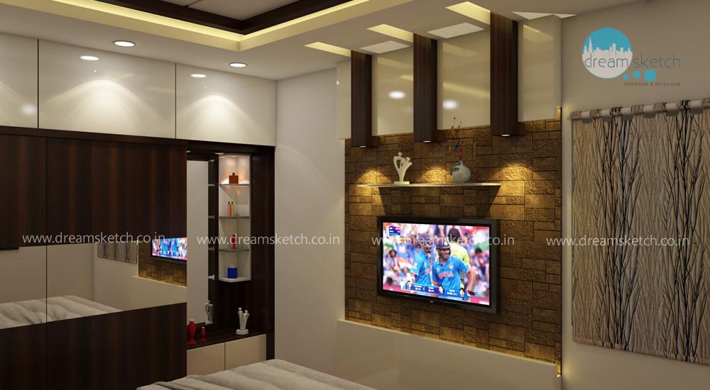 3D Models-1st Floor Guest Bedroom View1