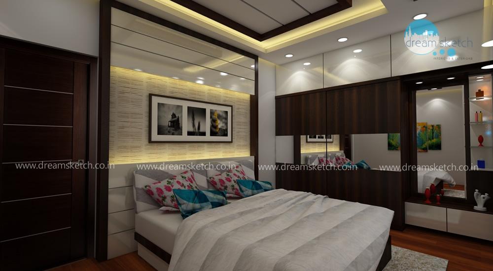 3D Models-1st Floor Guest Bedroom View2