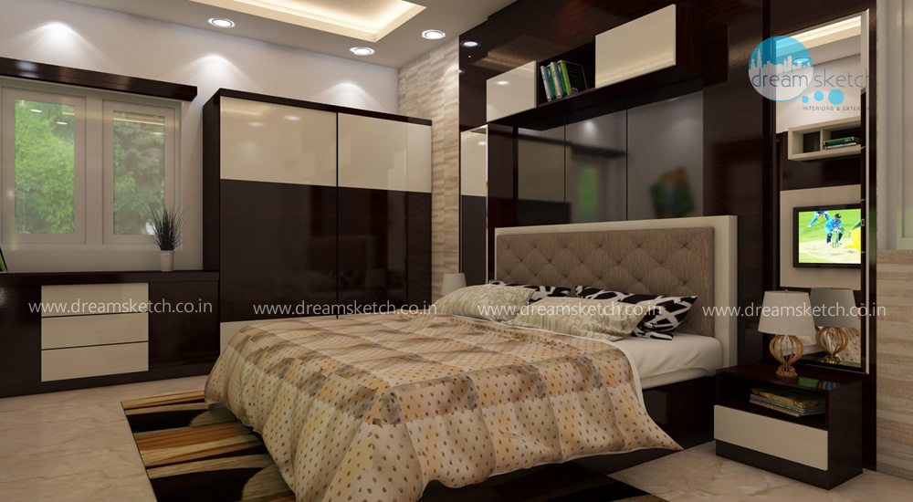3D Models-1st Floor Master Bedroom View1