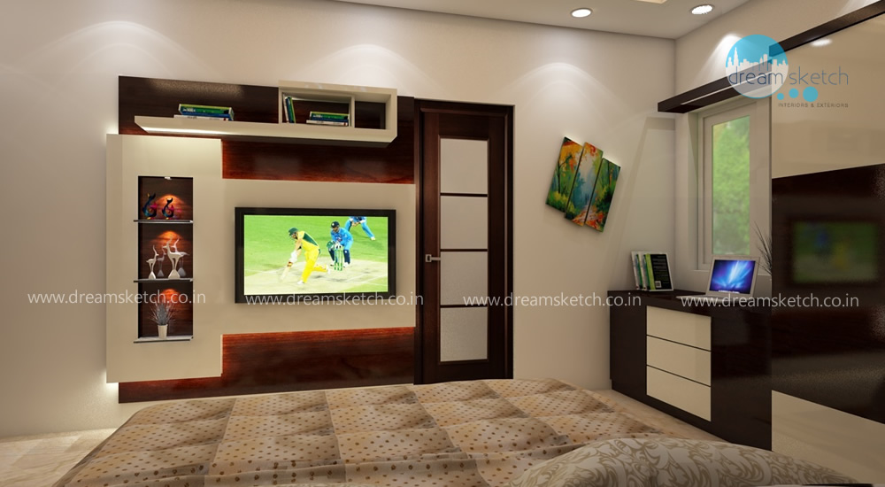 3D Models-1st Floor Master Bedroom View2