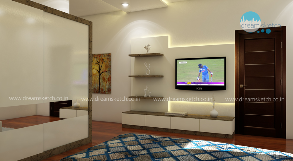 3D Models-2nd Floor 2nd Bedroom View2