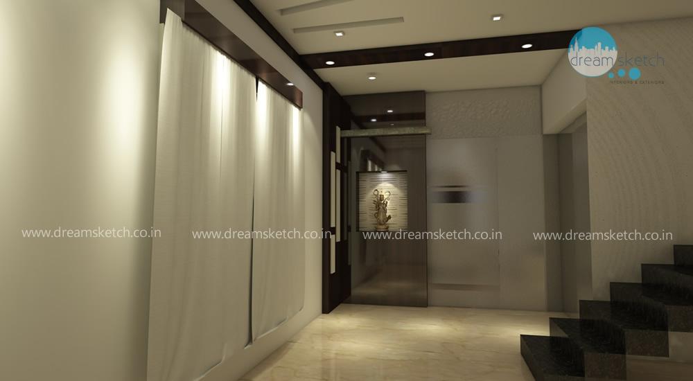 3D Models-Ground Floor Coridor