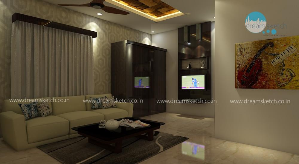 3D Models-Ground Floor Living Room View1