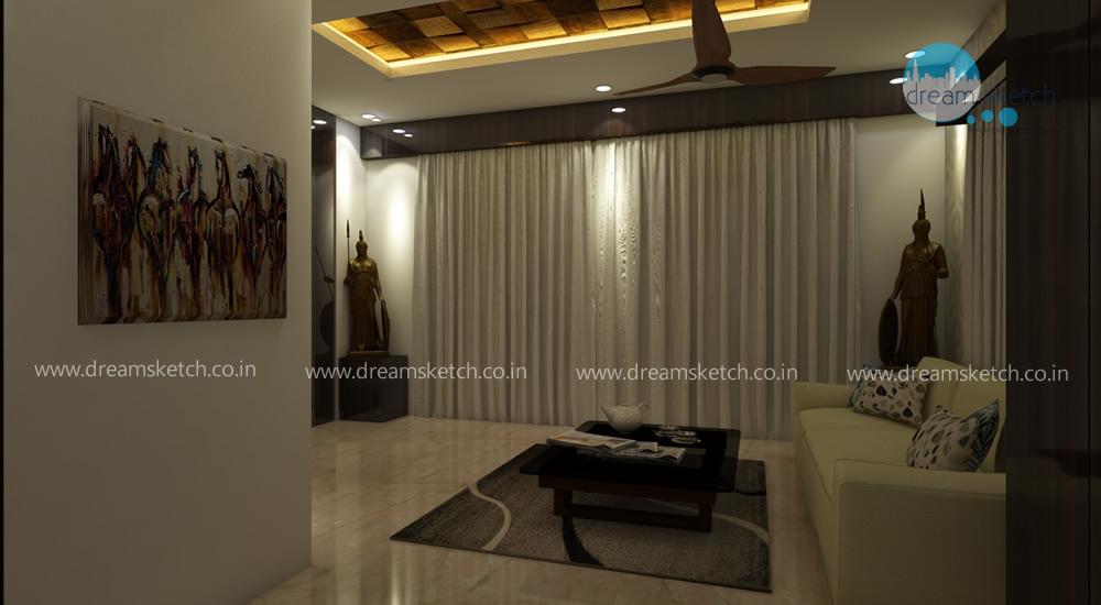 3D Models-Ground Floor Living Room View2