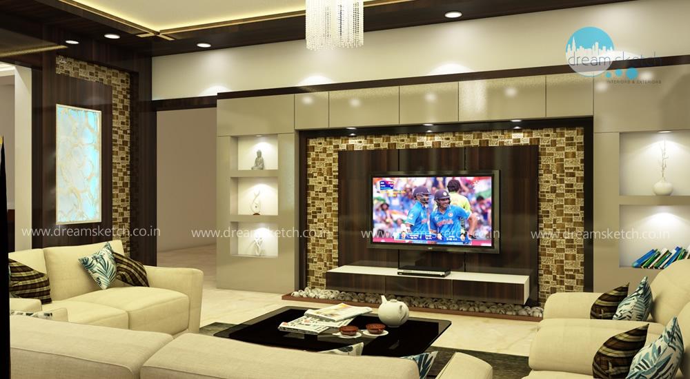 3D Models-Living Room View1